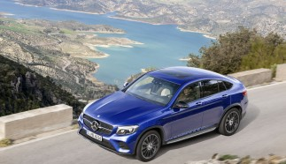 Mercedes-Benz GLC Coupé: At Home On- or Off-Road
