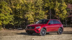 2016 Mercedes-Benz GLC300 SUV Red