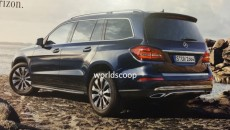 Mercedes-Benz GLS side rear