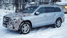 Mercedes-Benz GLS Spy Photo