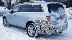 Mercedes-Benz GLS Cold Weather Testing