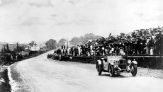 International Tourist Trophy near Belfast, August 17, 1929: Rudolf Caracciola wins on Mercedes-Benz SS.