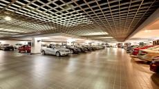 Mercedes-Benz of Coral Gables Indoor Lot