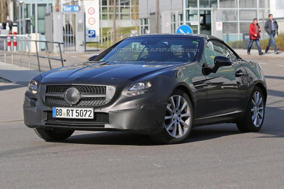 Mercedes-Benz SLC spy photo
