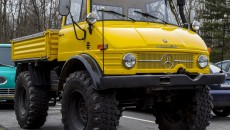 The 1972 Mercedes Benz Unimog is a 'truck on a tractor foundation,' and was only sold in Germany.