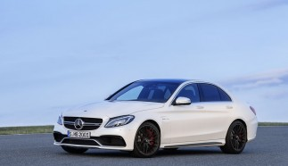Mercedes C63 AMG Photo Gallery