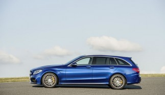 Mercedes C63 AMG Estate Photo Gallery