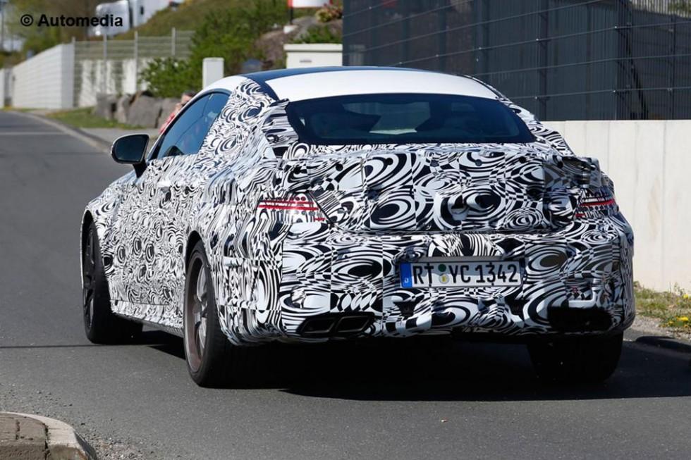 Mercedes C 63 AMG Coupe Spy Photo