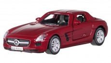 SLS AMG genuine paintwork colour Le Mans red. 7.62 cm (3-inch). Accurate reproduction. Age 3+. By Norev for Mercedes-Benz. Item number B66960180. Price: 5.90 €