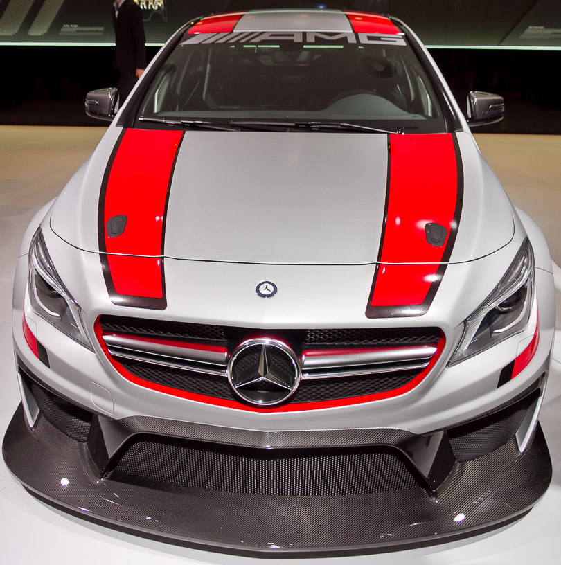 Mercedes CLA 45 AMG Racing Series IAA