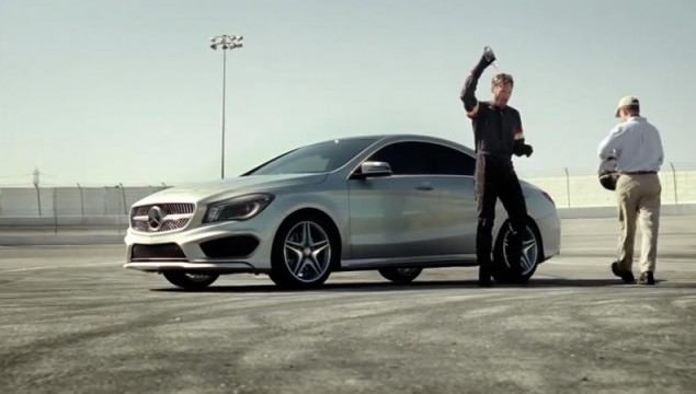 Mercedes-Benz CLA Heat Commercial