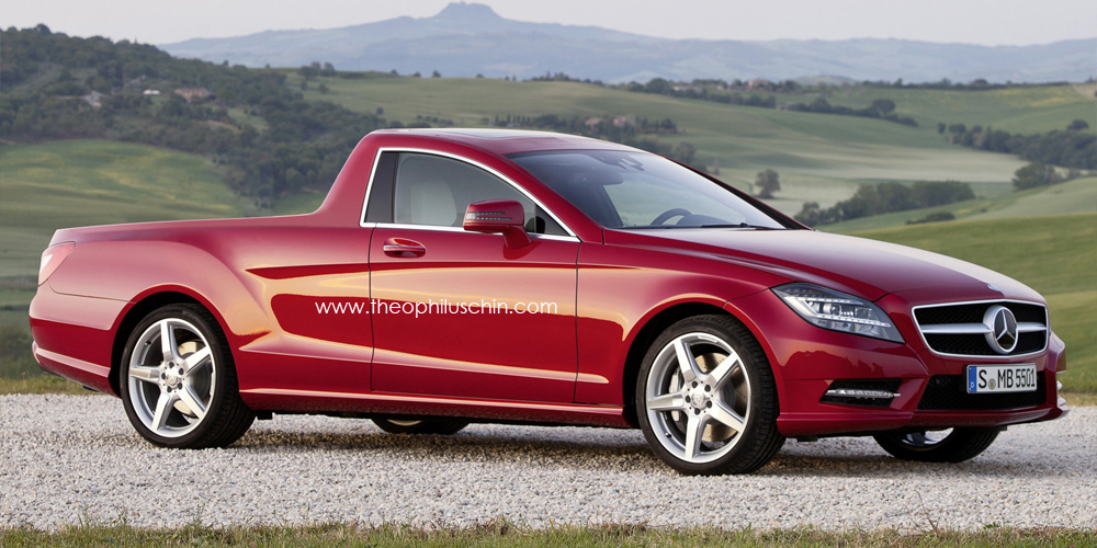 Mercedes-Benz CLS Utility Coupe Rendered Photo Gallery (CLS Shooting ...