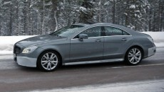 2015 Mercedes-Benz CLS Spy Photo Side Exterior