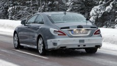 2015 Mercedes-Benz CLS Spy Photo Rear Exterior
