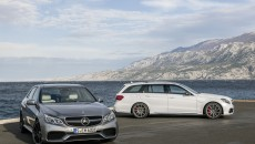 2014 Mercedes E63 AMG Estate and Sedan
