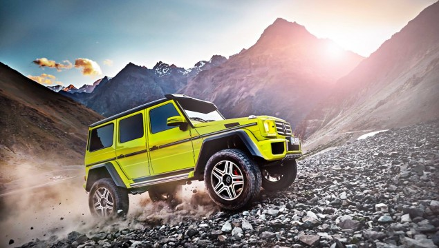 Mercedes-Benz Announces G 500 4x4² Show Car