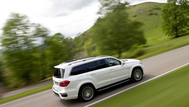 2013 Mercedes-Benz GL63 AMG Officially Revealed