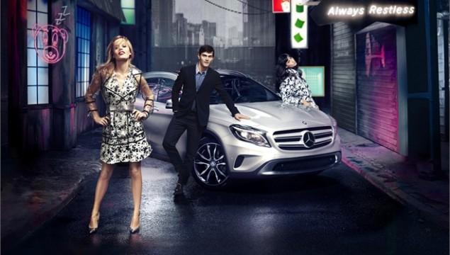 Mercedes-Benz GLA Georgia May Jagger