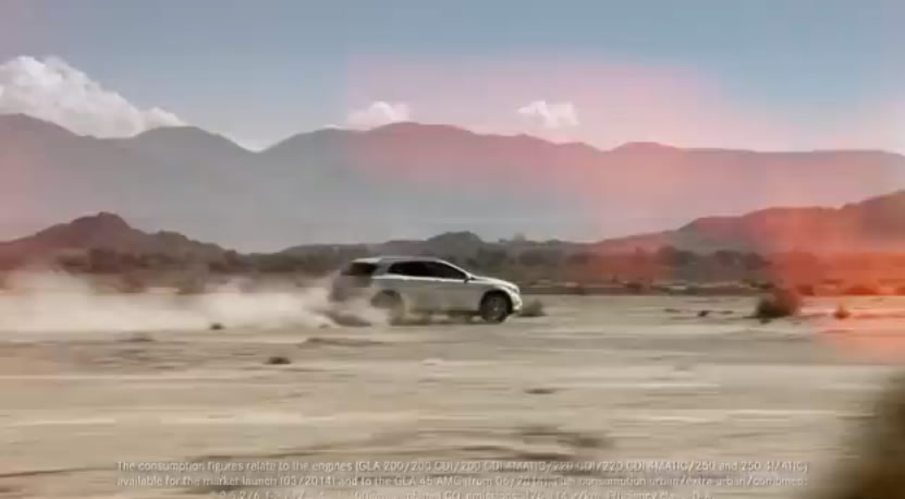 Mercedes-Benz GLA TV Commercial