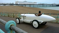 Benz 200 PS record car of 1909. Photo of 2005.