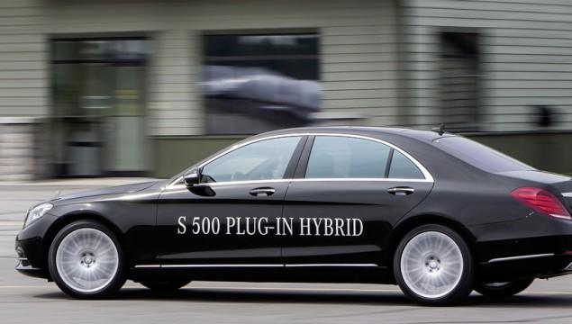2014 Mercedes S500 Plug-In Hybrid