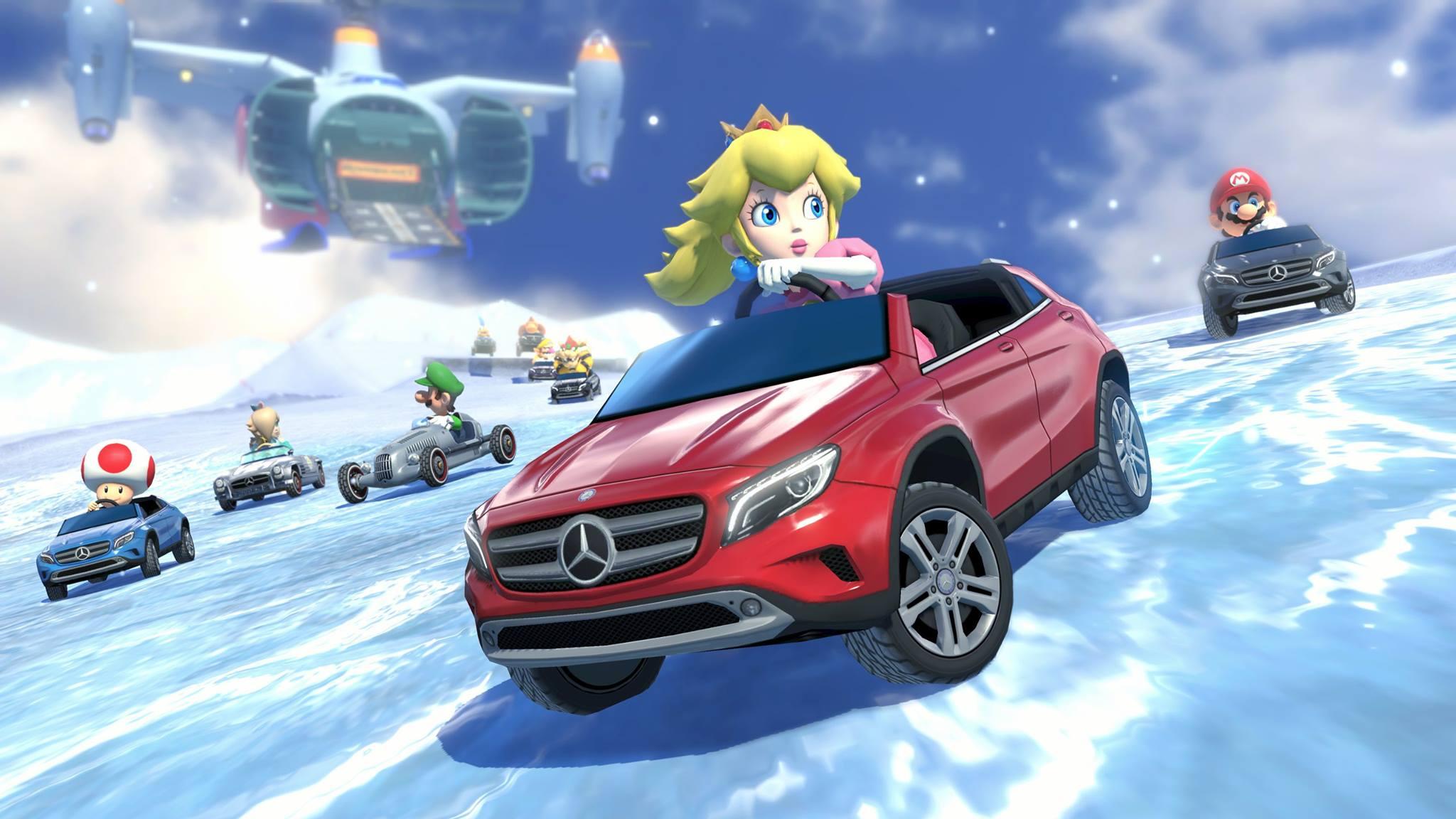 Mercedes Mario Kart 1
