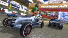 Mercedes Mario Kart Luigi