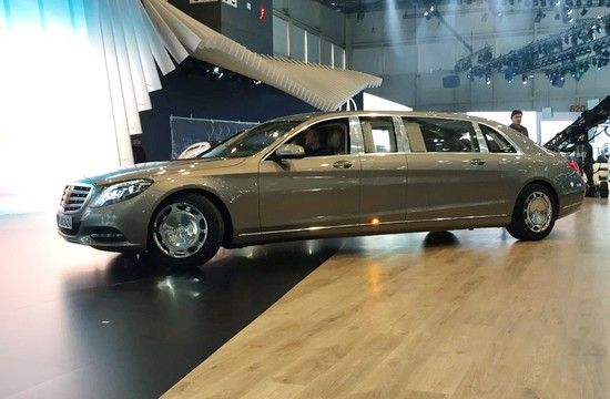 Mercedes Maybach S600 Pullman Spotted Ahead of Premiere