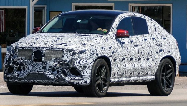 Mercedes-Benz ML Coupe Spied