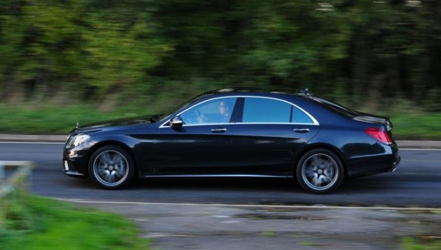 The Winner - Mercedes S63 AMG