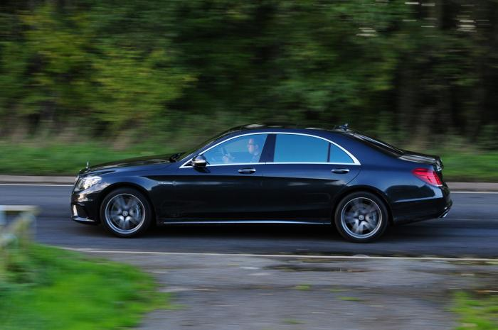 The Winner – Mercedes S63 AMG