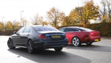 Mercedes S63 AMG Vs. Jaguar XJR