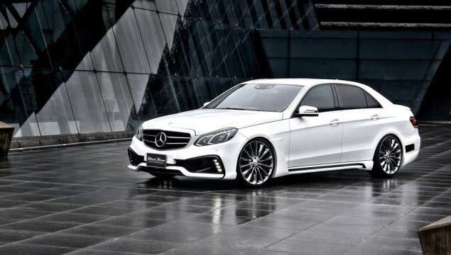 Facelifted Mercedes E-Class Tuned by WALD