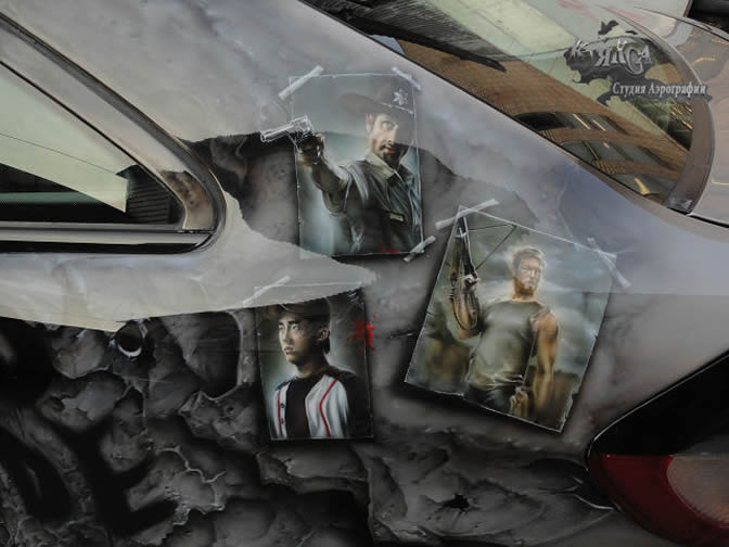 Walking Dead Mercedes CLC Class 2