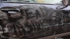 Walking Dead Mercedes CLC Class Zombie