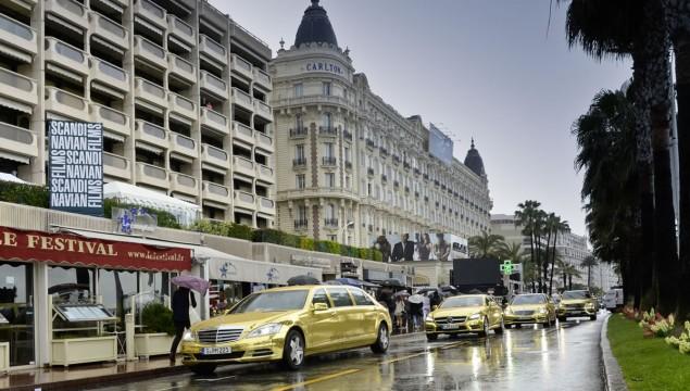 Cannes Film Festival Gold Mercedes-Benz AMG Brad Pitt
