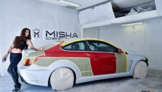 Misha Designs C-Class Coupe with Wide Body Kit