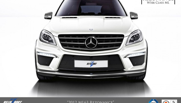 Mercedes ML63 AMG Rezonance by RevoZport