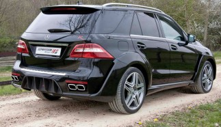 Mercedes ML63 AMG Wide Body by Expression Motorsport