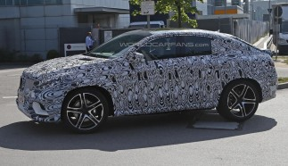 Mercedes-Benz MLC Spied for the First Time
