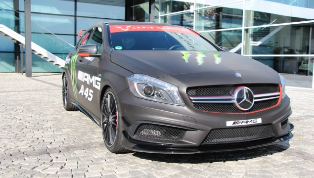 Monster Energy Mercedes A45 AMG