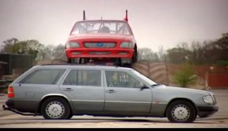 Can An Old Mercedes Survive a Monster Truck Attack