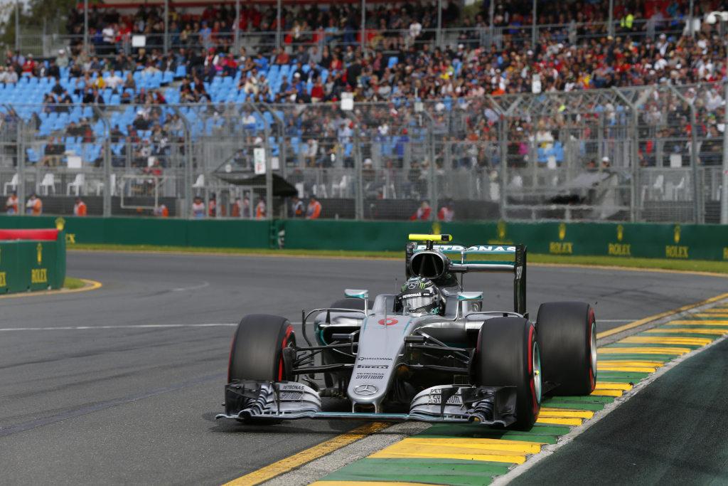 Formula One - MERCEDES AMG PETRONAS, Australian GP 2016. Lewis Hamilton, Nico Rosberg