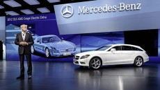 Mercedes-Benz Premiered the B-Class Electric Drive concept at the 2012 Paris Motor Show