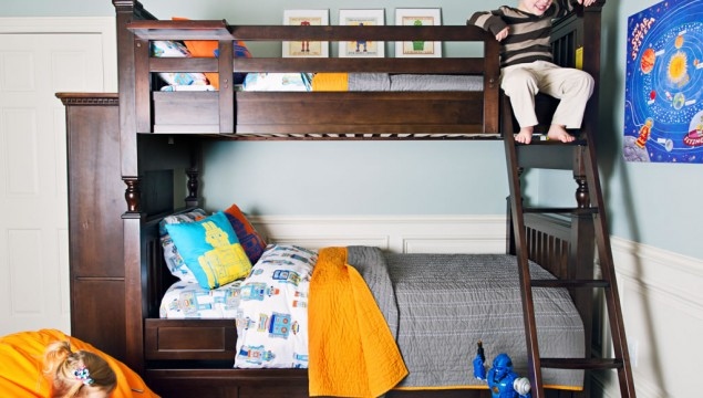 Smartstuff Paula Deen - Guys Bunk Bed (twin over twin with trundle)