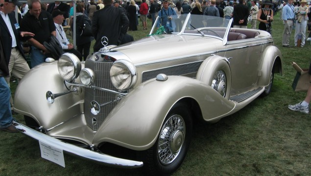 2012 Pebble Beach Concours d'Elegance SL Roadster Tribute