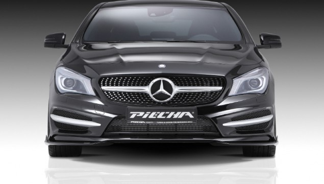 Mercedes-Benz CLA Tuned by Piecha Designs