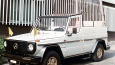 Guard History: G-Class Popemobile