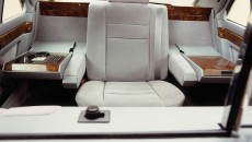 The Holy Father's single seat in the popemobile based on the S-Class (V 126 series).