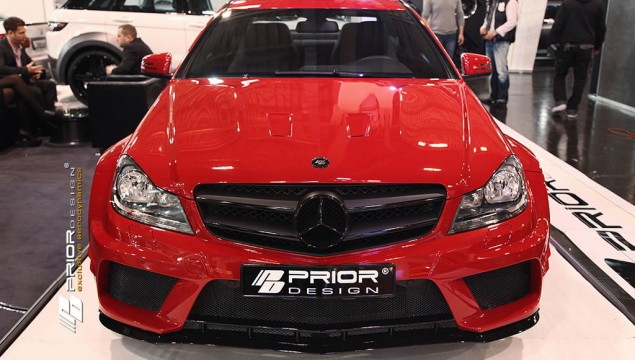 Prior Design Tunes the C-Class Coupe with Widebody Kit